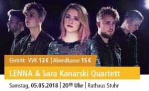 LENNA & Sara Kanarski Quartett @ Rathaus Stuhr | Stuhr | Niedersachsen | Deutschland