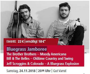 Bluegrass Jamboree @ Gut Varrel | Stuhr | Niedersachsen | Deutschland