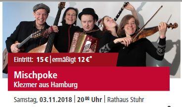 Mischpoke - Klezmer aus Hamburg @ Rathaus Stuhr | Stuhr | Niedersachsen | Deutschland