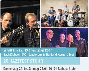 20. JAZZFEST STUHR @ Rathaus Stuhr | Stuhr | Niedersachsen | Deutschland