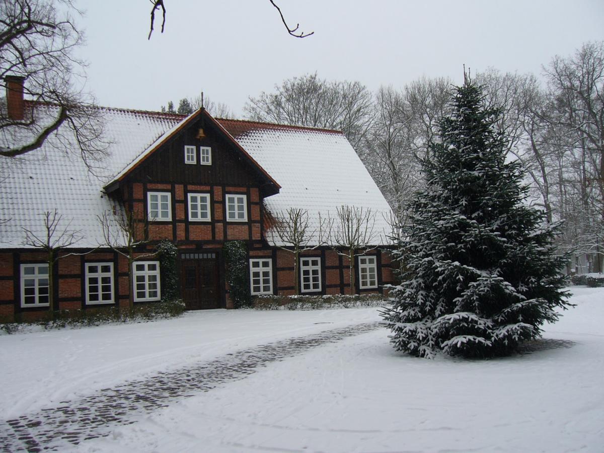 Gutshaus im Winter